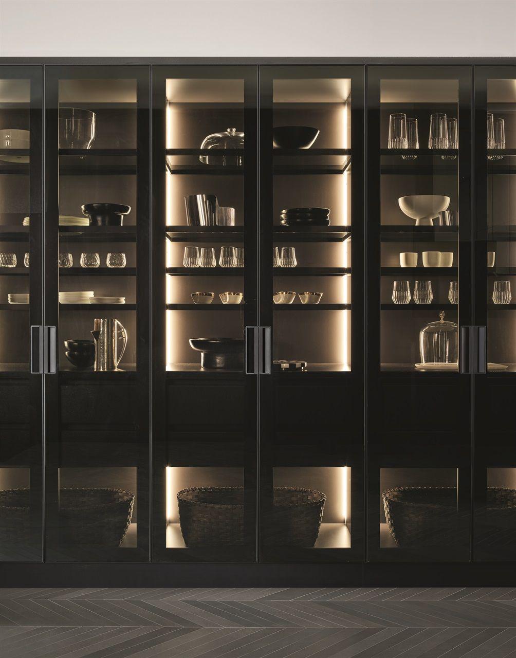 Poliform A Modern Kitchen Tale Crockery Cabinet Design Modern Kitchen Design Home Bar Designs