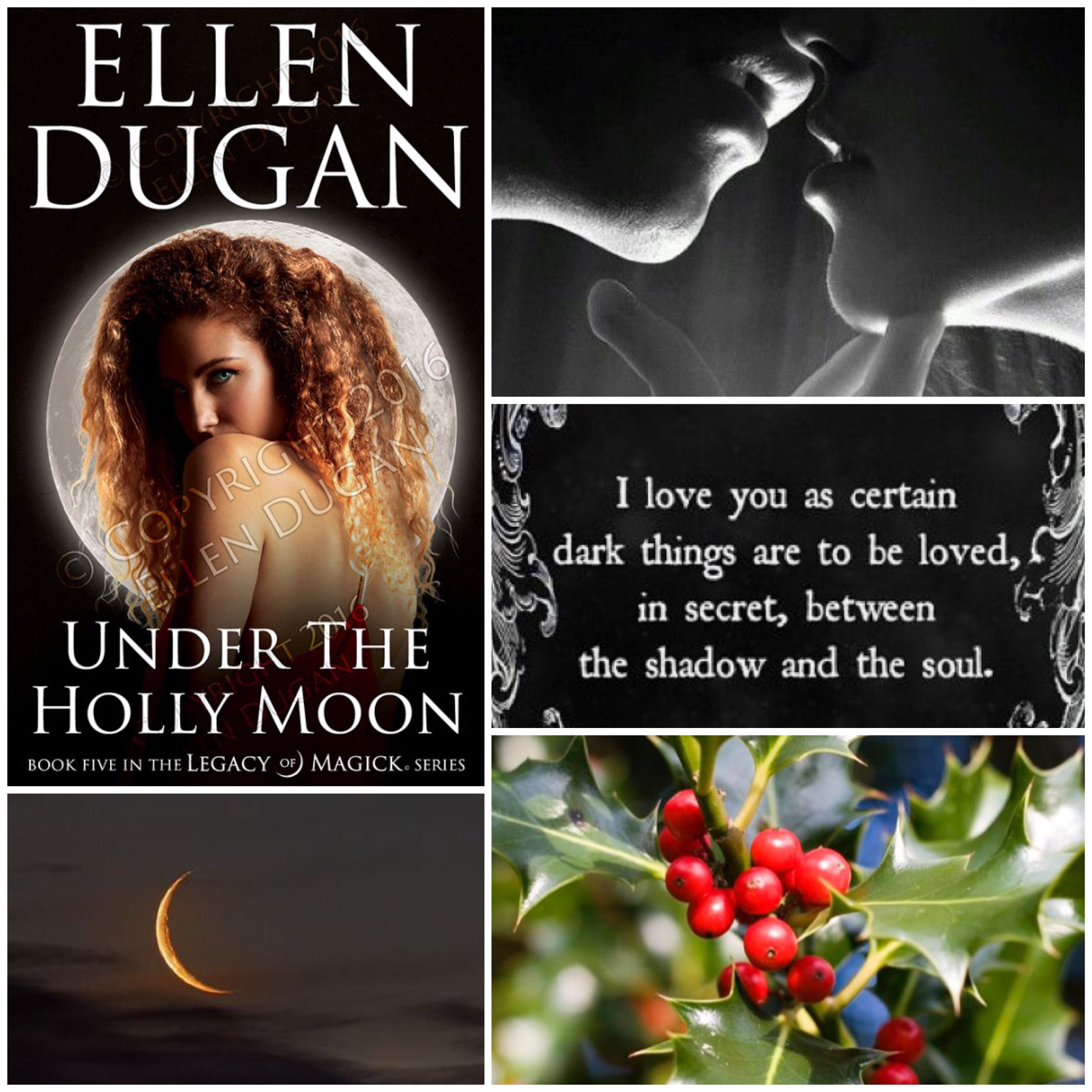 Mood Board For My Newest Novel Under The Holly Moon Book 5 In The Legacy Of Magick Series It S Sure To Add A Little Heat To These D Moon Book Magick Books