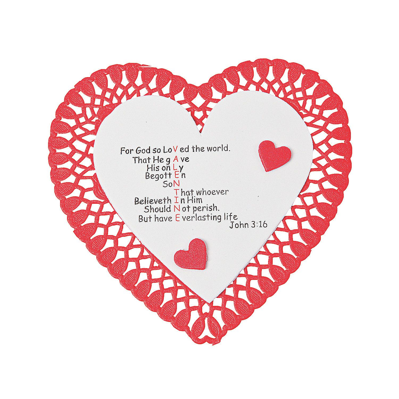 John 3 16 Valentine Craft Kit