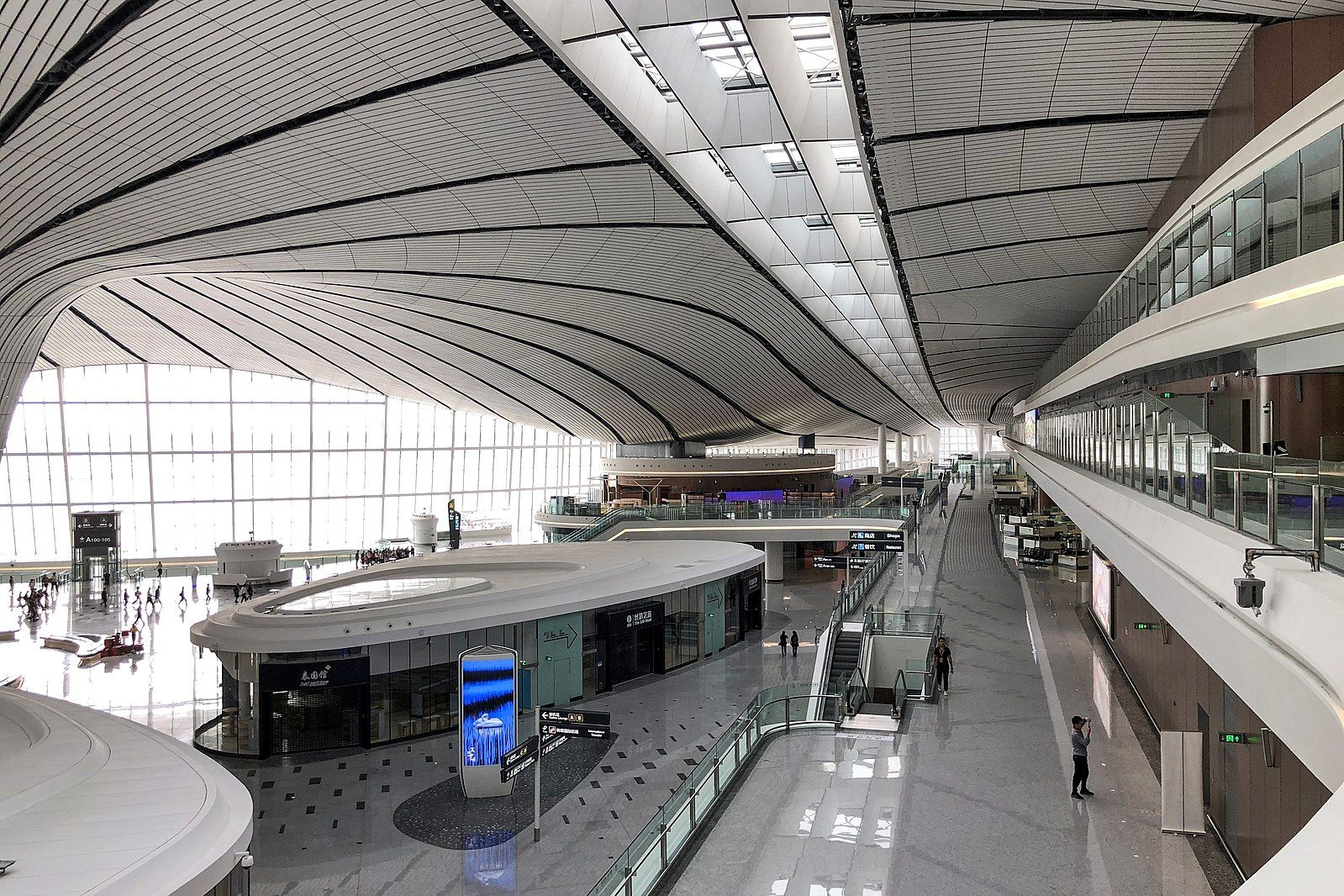 Beijing Daxing Airport Begins International Service