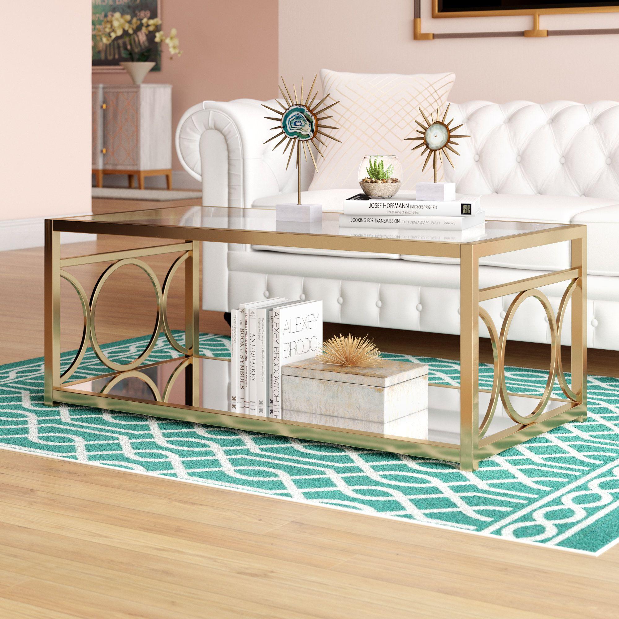 Astor Coffee Table Joss Main Coffee Table With Storage Coffee Table Coffee Table Rectangle [ 2000 x 2000 Pixel ]