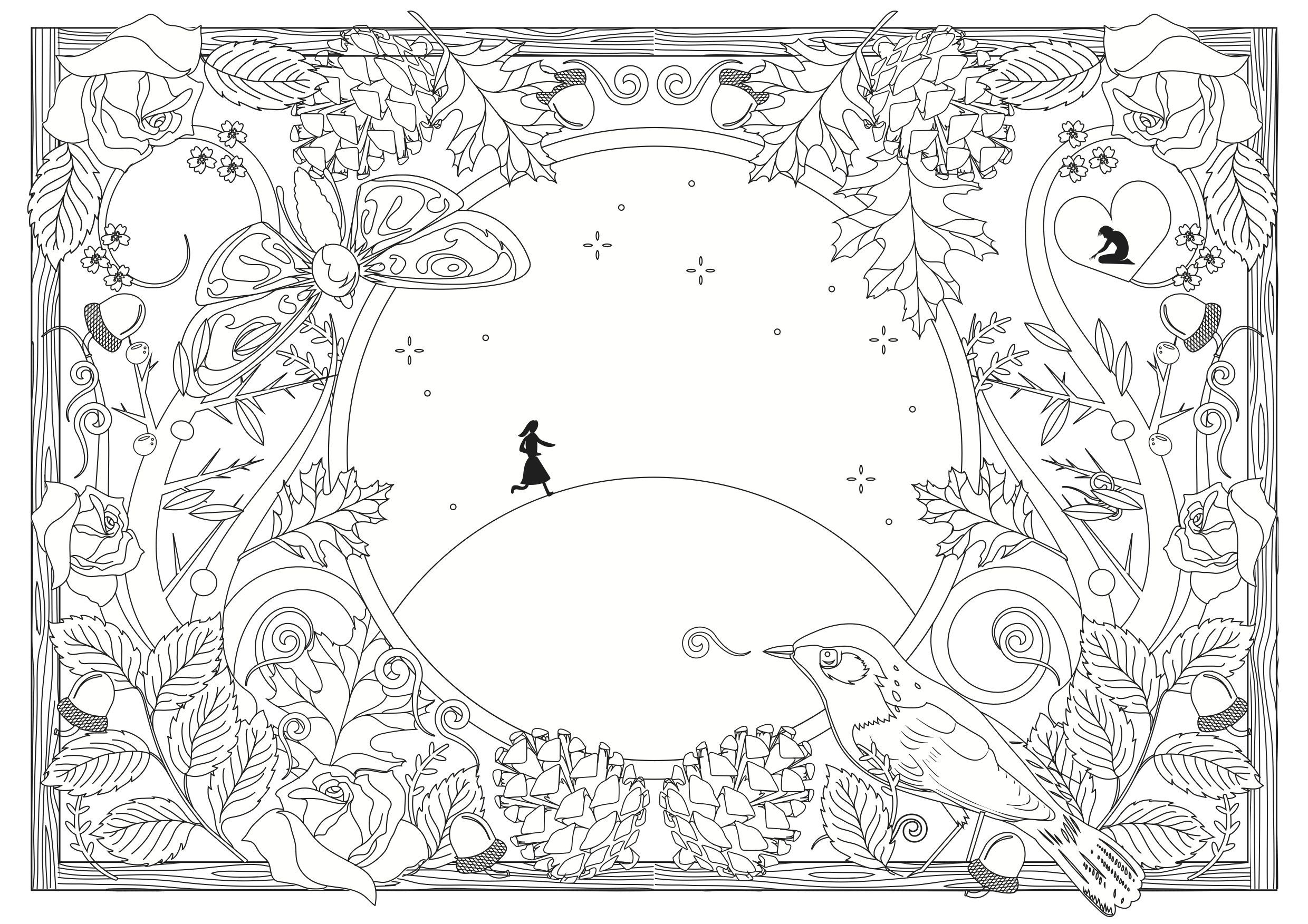 The Snow Queen Colouring Book: Helen Crawford-White ...