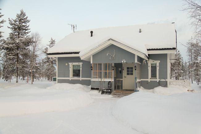 Myydään Omakotitalo 3 huonetta - Sodankylä Vuotso Sompiojärventie 178 - Etuovi.com 7661048