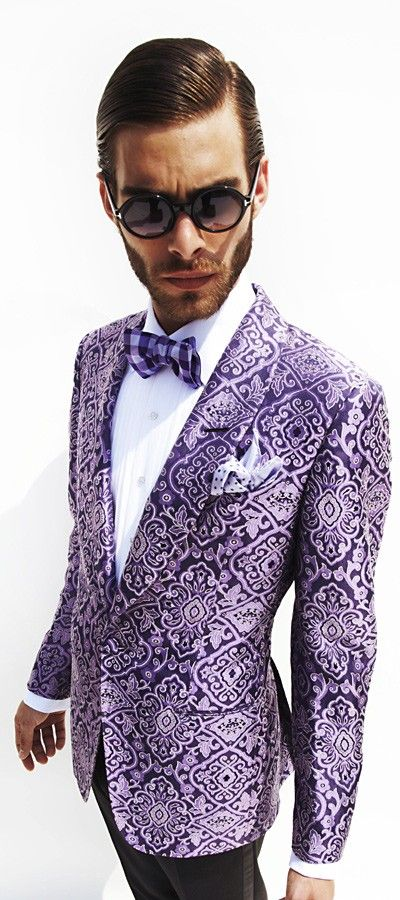 403f37227540 To much for a blazer but I love the pattern | Looks | Tom ford mens ...