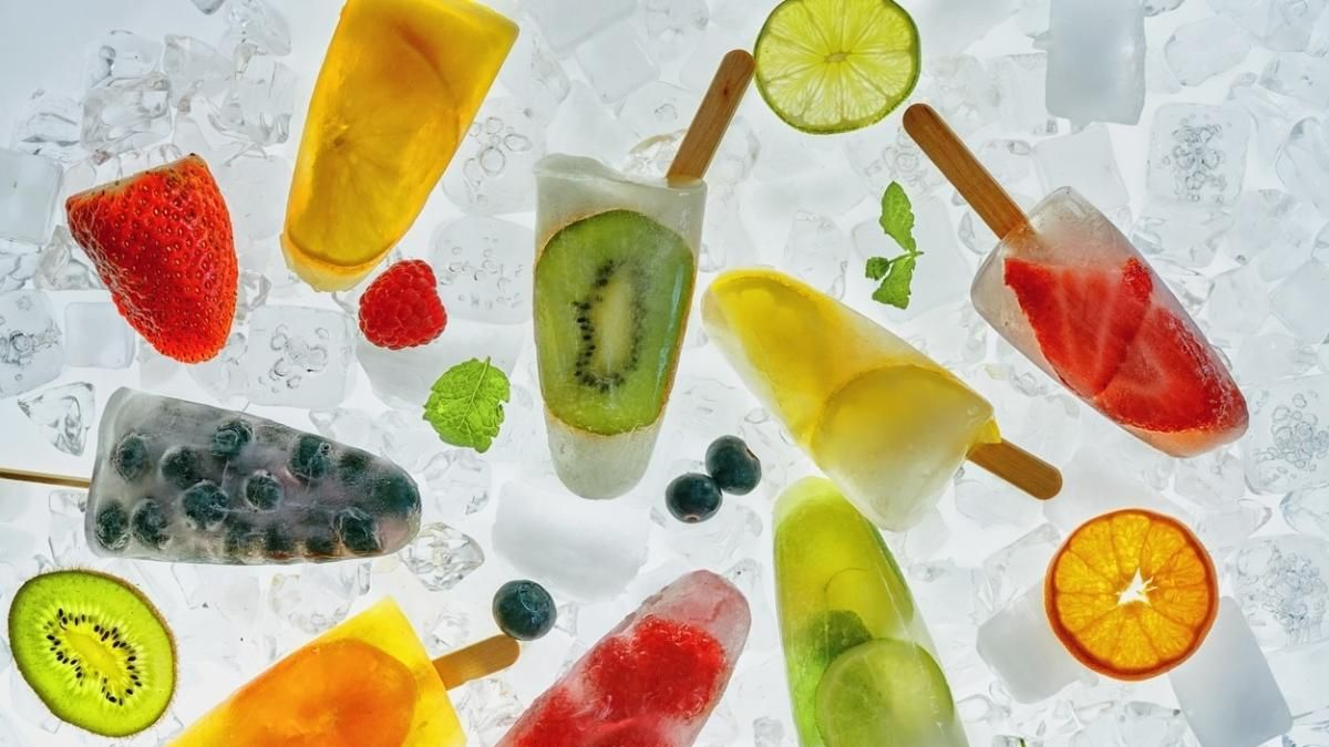 Picoles De Fruta A Base De Agua Sao Opcoes Saudaveis Para O Verao