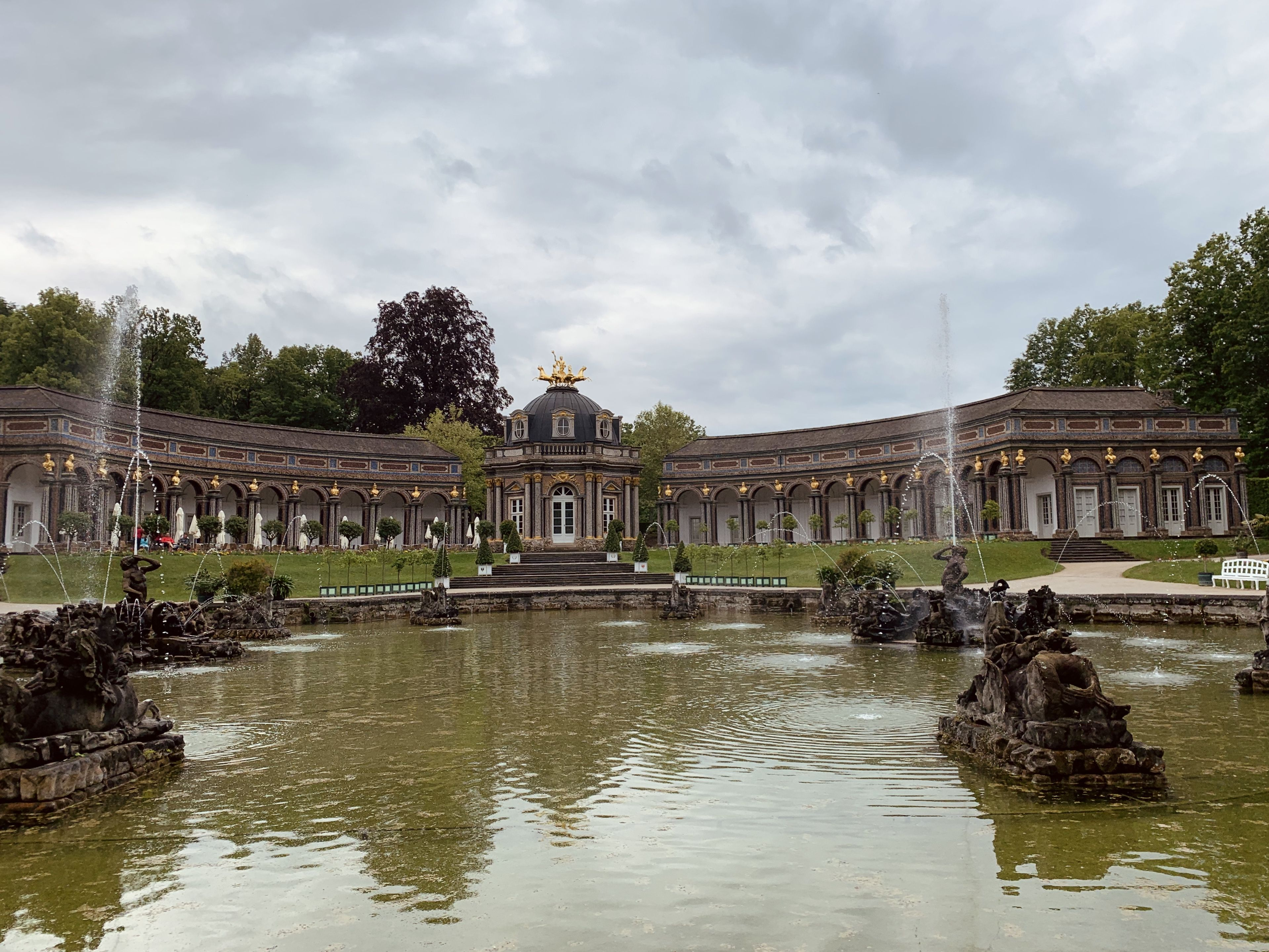Neues Schloss Sonnentempel Orangerie In Der Eremitage Von Bayreuth Bayreuth Reisen Deutschland Reisen