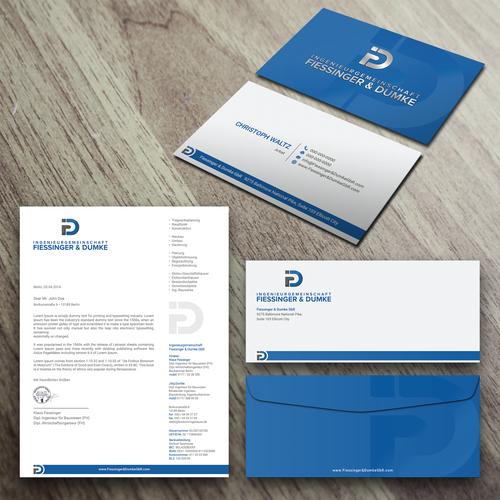 Visitenkarte Briefkopf F R Ingenieur B Ro Business Card