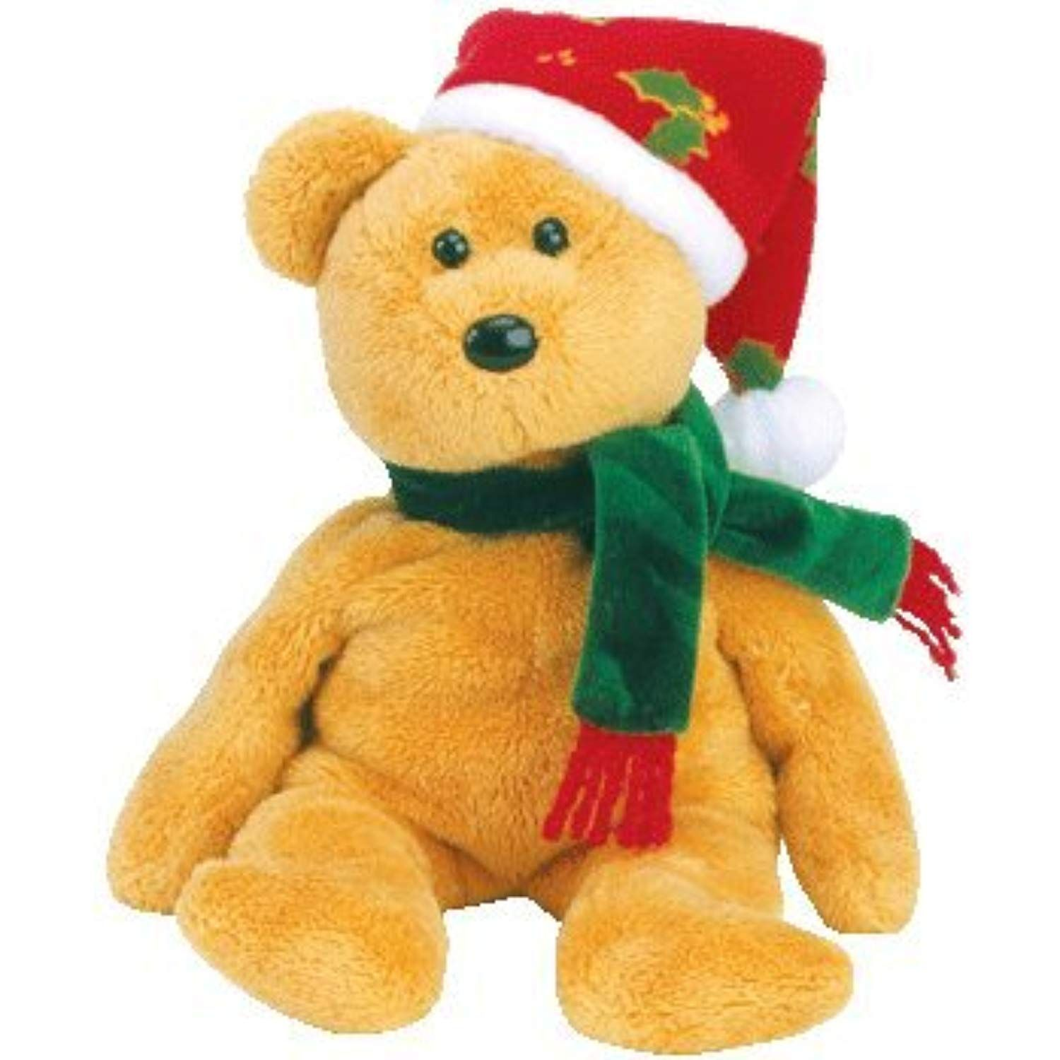 TY 2003 Holiday Teddy Beanie Baby by TYXMAS BEANIES