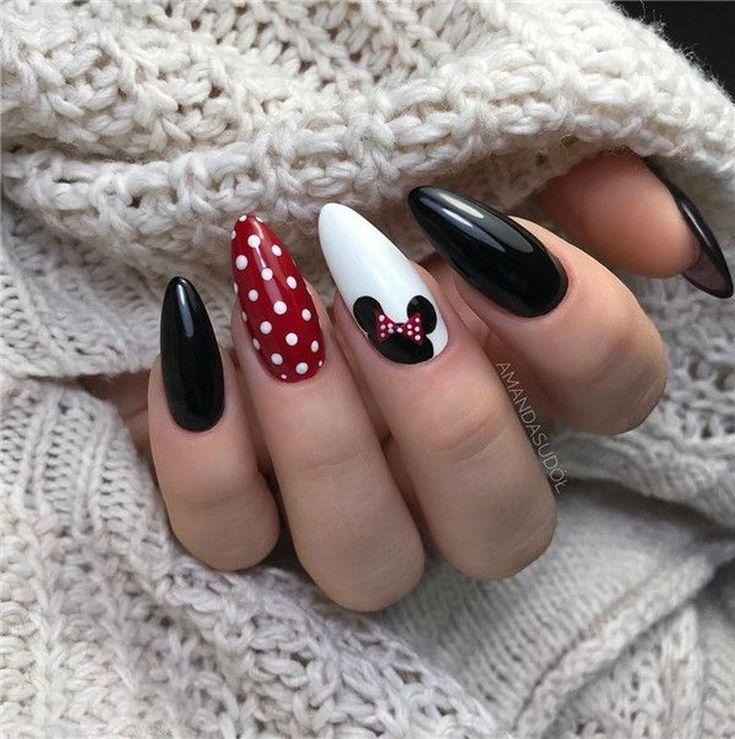 Photo of Bellissime 48 idee creative per il design delle unghie invernali in questa stagione. Maggiori informazioni su www.ti …