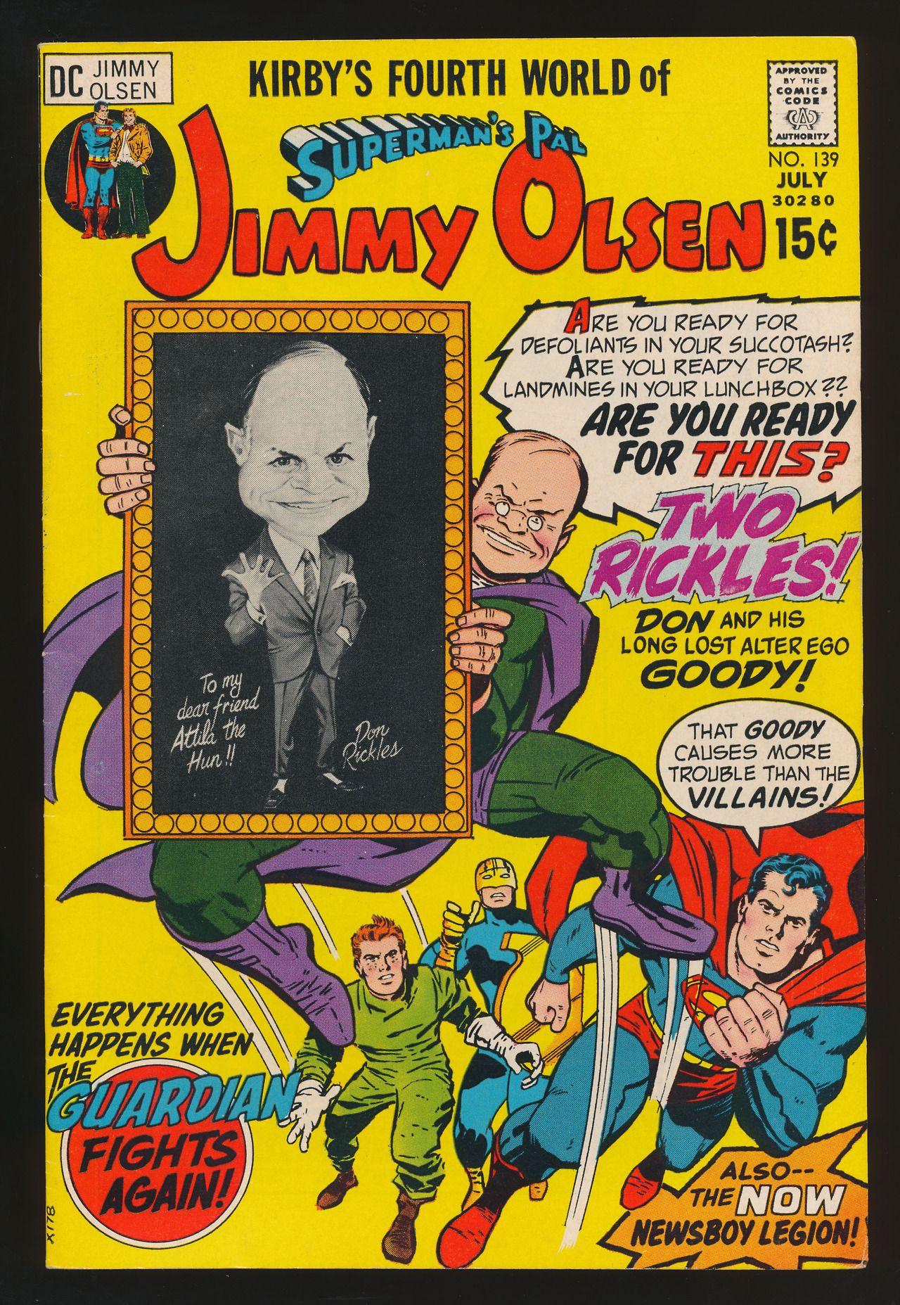 Jimmy Olsen 139 (Jul. 1971)