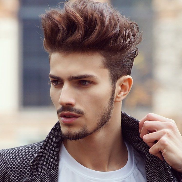 10 Best New Hairstyles For Men: Is The Silver #GrannyHair Style