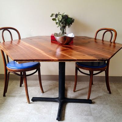 Scratch DIY Hexagon Dining Table