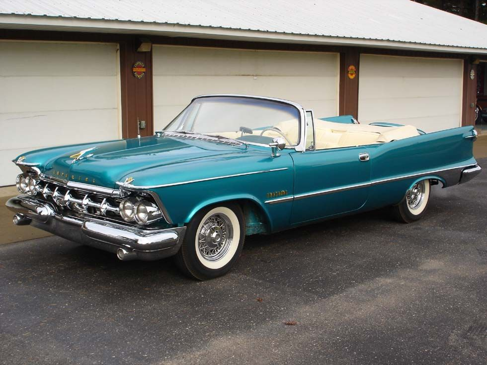 1959 Chrysler Imperial Convertible With Images Chrysler Cars