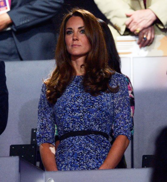 Kate Middleton Wears Whistles 'Bella' Dress To The Olympics 2012 Closing Ceremony | Grazia Fashion