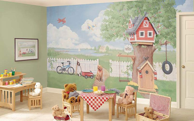 Kids Wall Murals custom 3d photo wallpaper mural kids room nonwoven wall sticker