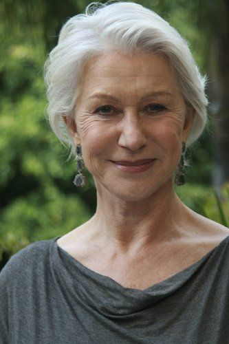 to age as beautifully and gracefully as this ...  Helen Mirren