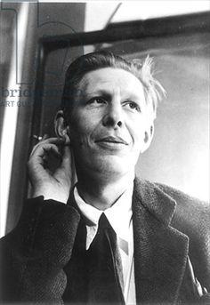 W. H. Auden on Pinterest   Christopher Isherwood, Poet and Hugh O ...