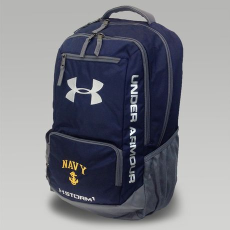 0d1b6e842a Under armour navy hustle ii backpack