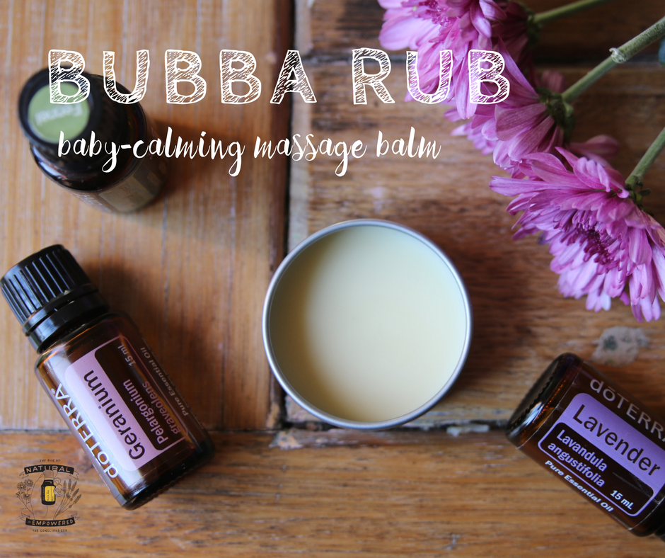 Bubba Rub – Baby-Calming Massage Balm