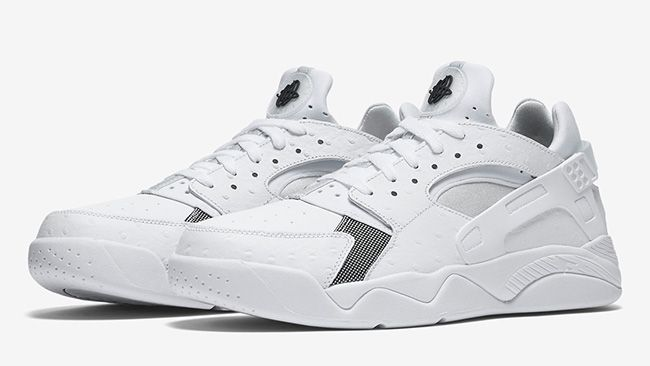 Nike Air Flight Huarache Low White
