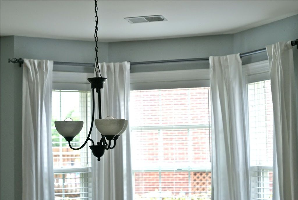 Furniture Marvelous Bay Window Curtains And Blinds Also Bay