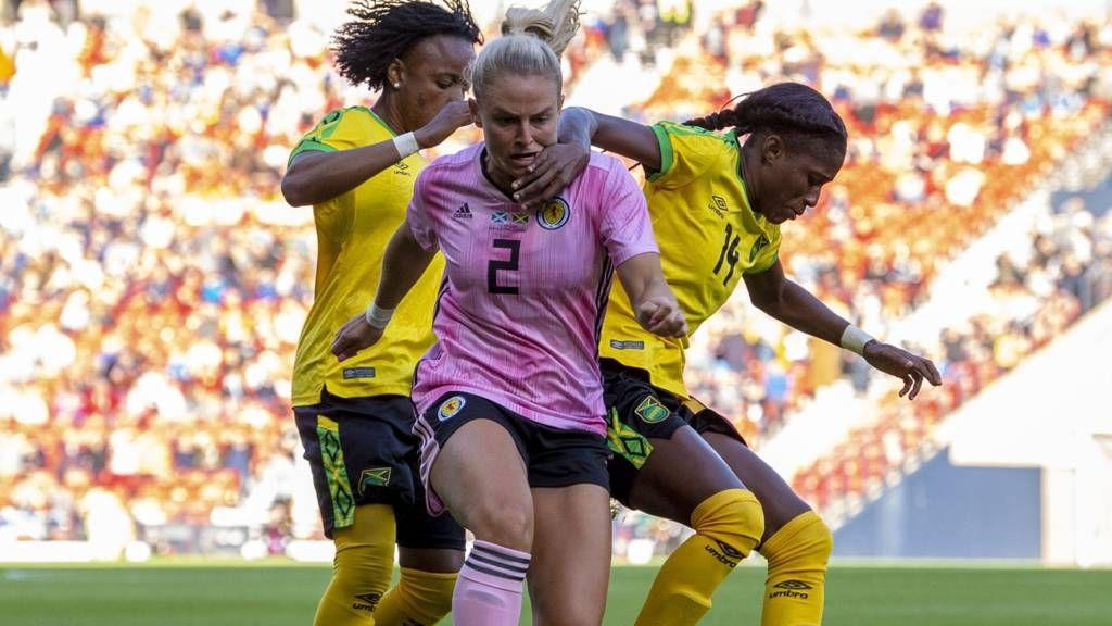 World Cup warmup Scotland v Jamaica
