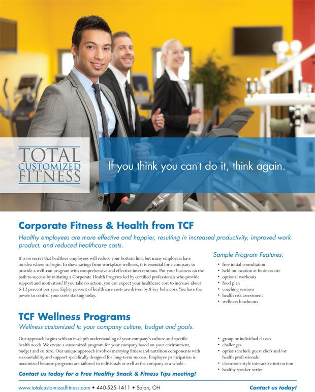 Image result for corporate fitness programs flyer Health - fitness brochure