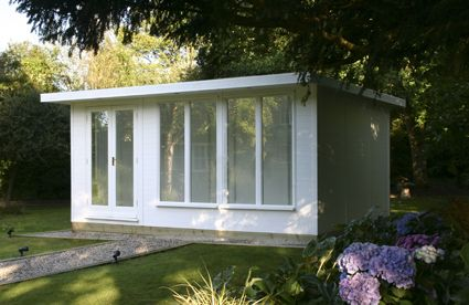 Outside Room outside your new extra home room - the white room timber building