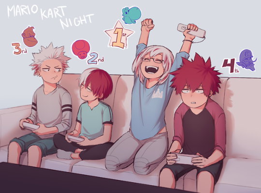 Todoroki Family Art By Keiid My Hero Boku No Hero Academia