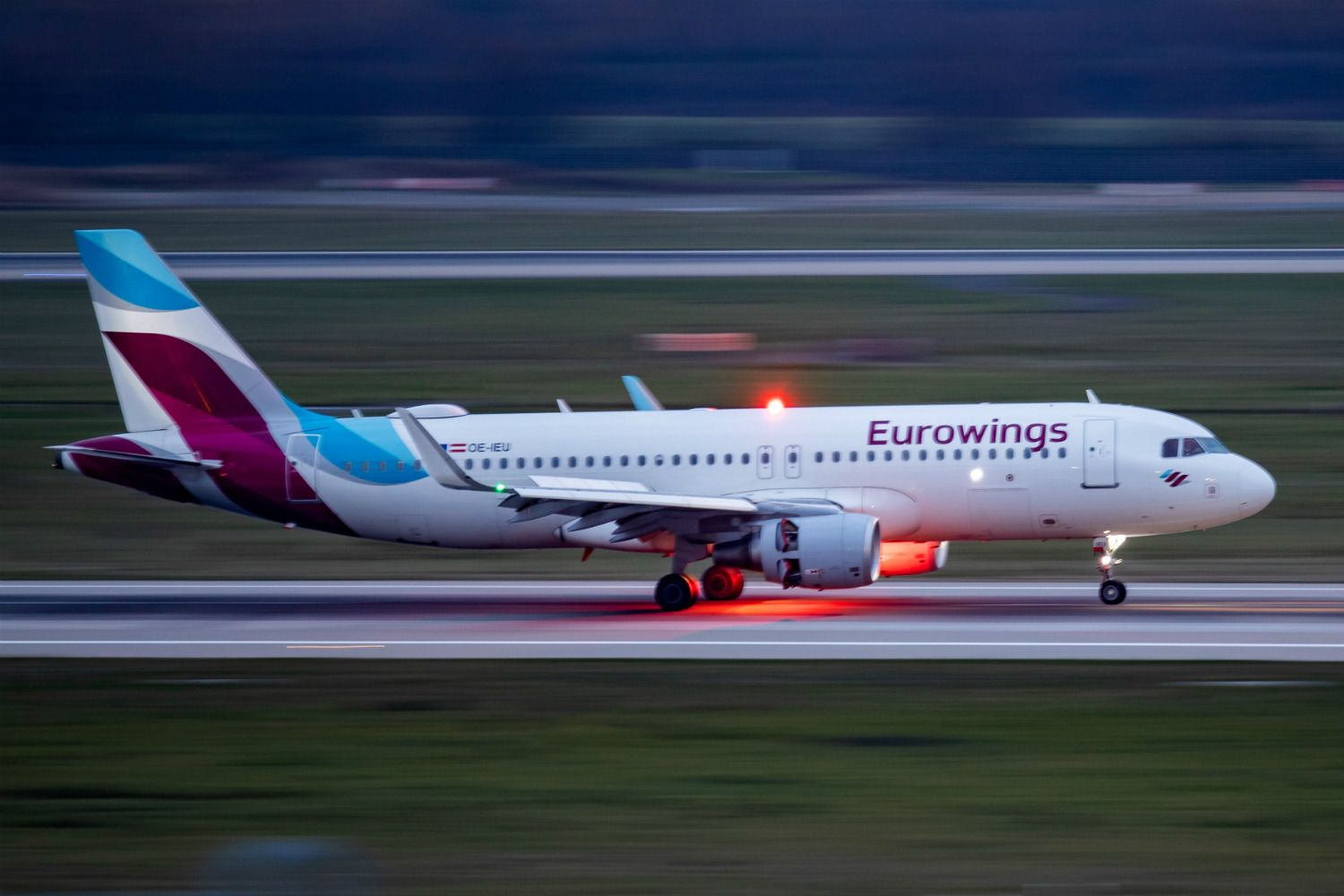 Flight cancellations as Eurowings employees strike in