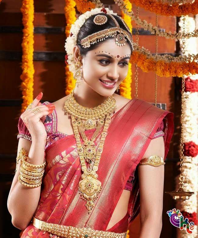 south indian wedding brides prefer wear heavy jewellery | A to Z ...