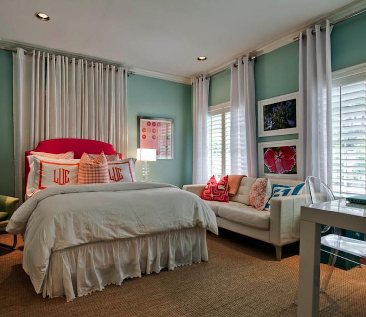 Underwood Interiors - girl\'s rooms - teen girls room, teen girls ...