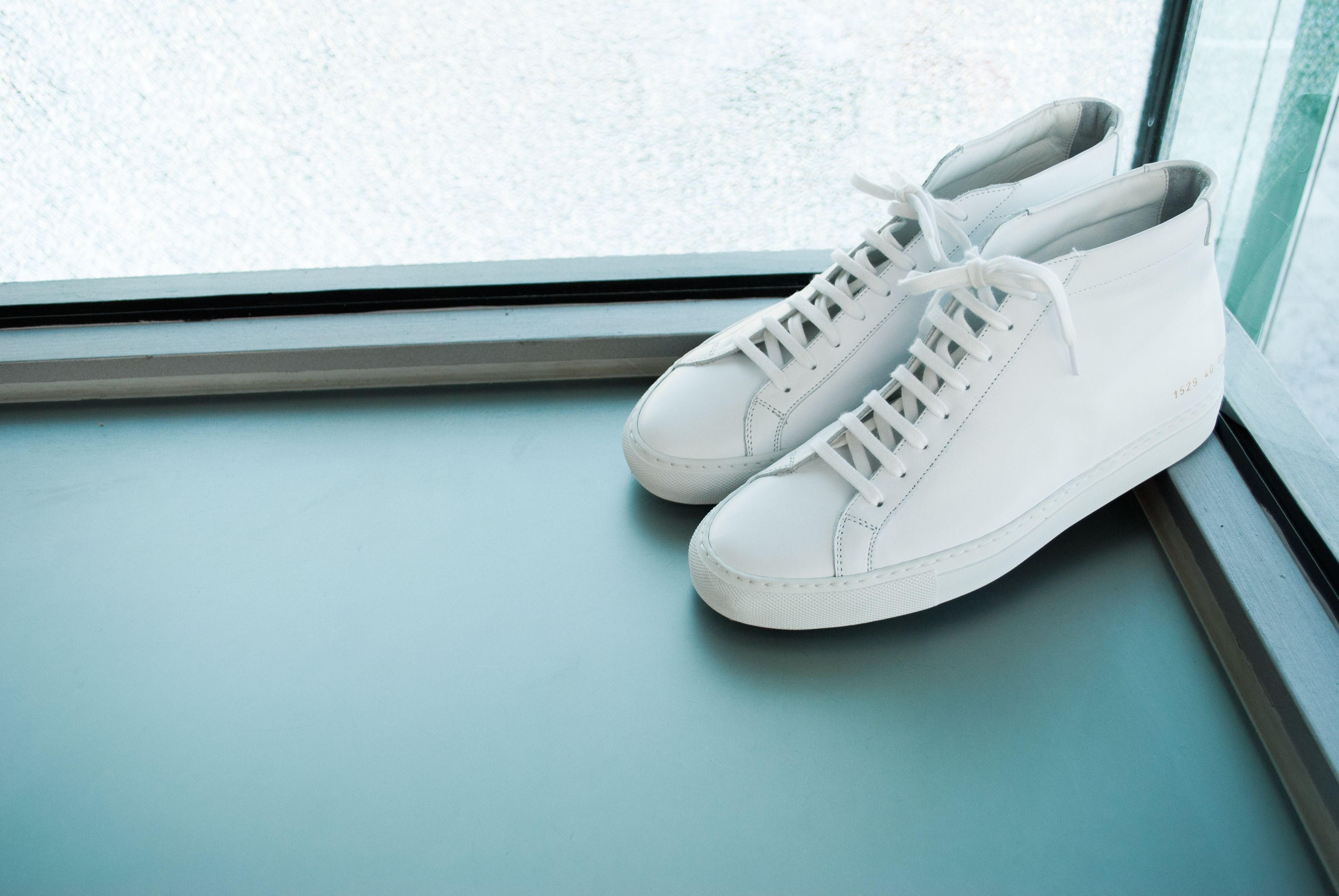 A BUNGALOW FAVE #commonprojects  #achilles #high #white #hightops #minimal