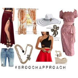 Where to Pin or Wear a Brooch?