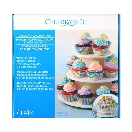 Celebrate It Cake Pop Cupcake Stand Cake Pops Cupcakes