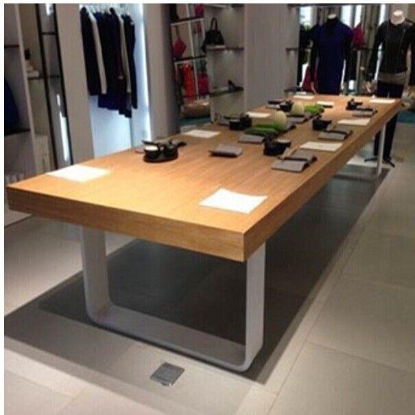 Hierro-mesa-de-reuniones-de-madera-tablas-de-entrenamiento-personal ...