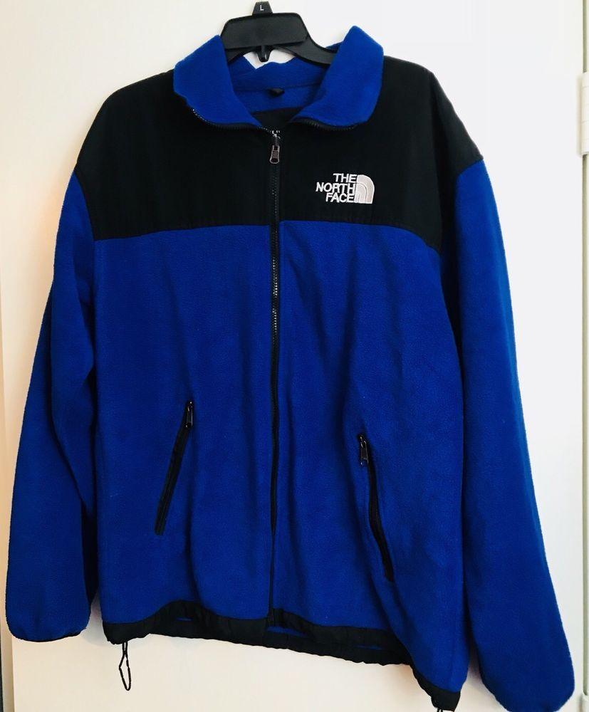 8e5f677d8 The North Face Summit Series Gore-tex Blue Fleece Liner Jacket Men L ...