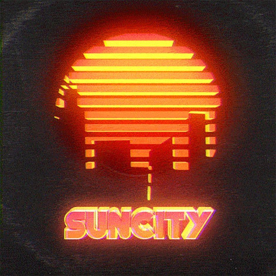 Suncity Single By Aaron J Affiliate Aaron Music Singles Listen Affiliate Orange Aesthetic Retro Futurism Retro Waves