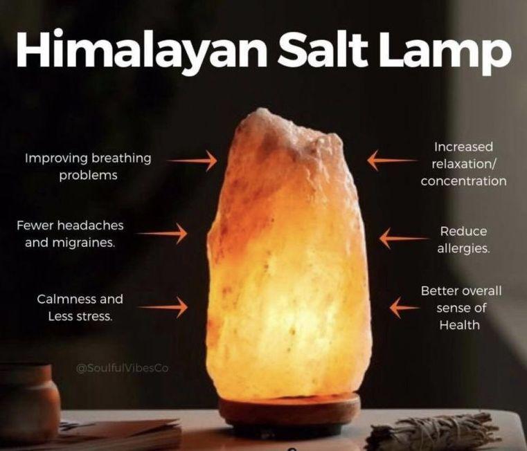 43+ What do himalayan salt lamps do ideas