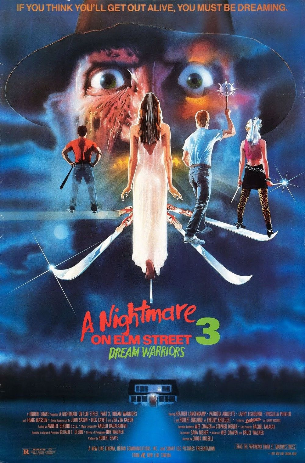 A Nightmare On Elm Street 3 Dream Warriors Filmes De Terror