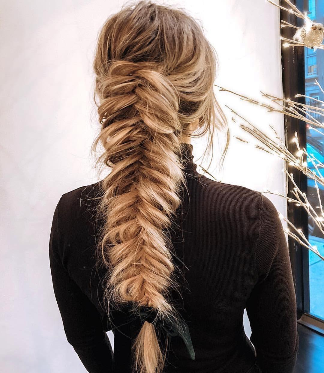 Pretty big braids