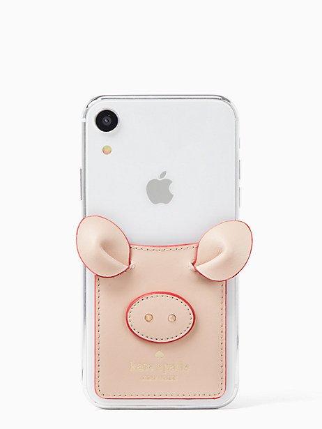 Kate Spade Pig Sticker, Warm Vellum Phone apps iphone