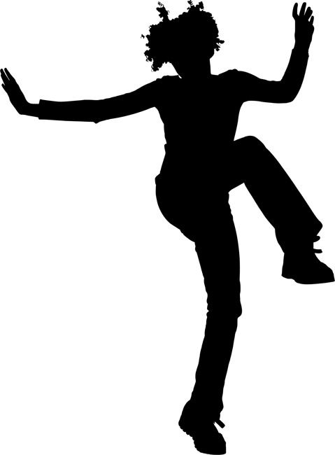 Dancer Wall Stencils Silhouette Painting Silhouette Dancer Silhouette