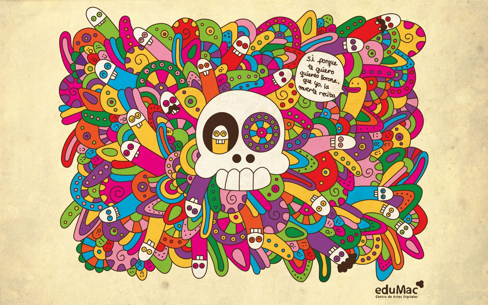 Calavera Mexicana Wallpaper | www.pixshark.com - Images ...
