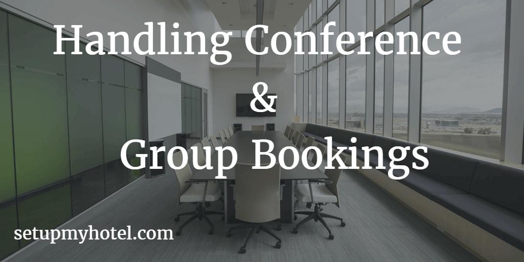 Handling Conference Bookings Standard Operating Procedures