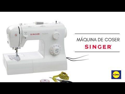 Cómo Usar La Máquina De Coser Singer De Lidl Para Principiantes Youtube Máquinas De Coser Singer Maquina De Coser Como Bordar A Maquina
