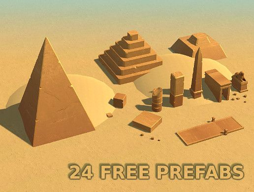 Desert Kits 64 Sample Unity Asset Store Unity Games #tCubedLibrary