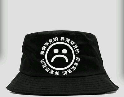 857b6792210 KYC Vintage Very RARE Sad Boyz Bucket Hat Yung Lean Supreme RARE Air ...