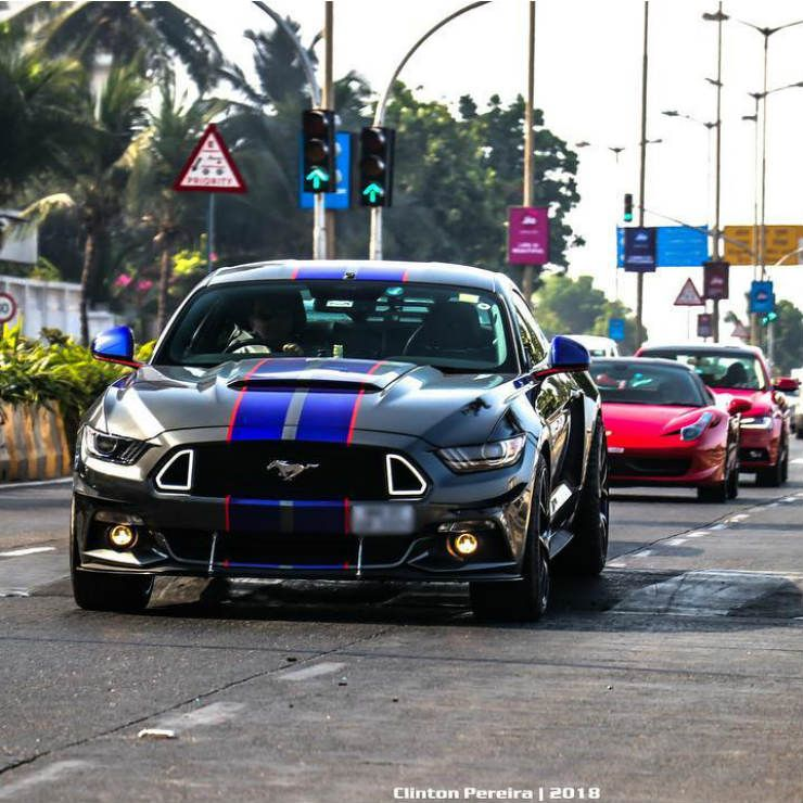 5 Awesome Modified Ford Mustangs Of India Mustang Ford Mustang