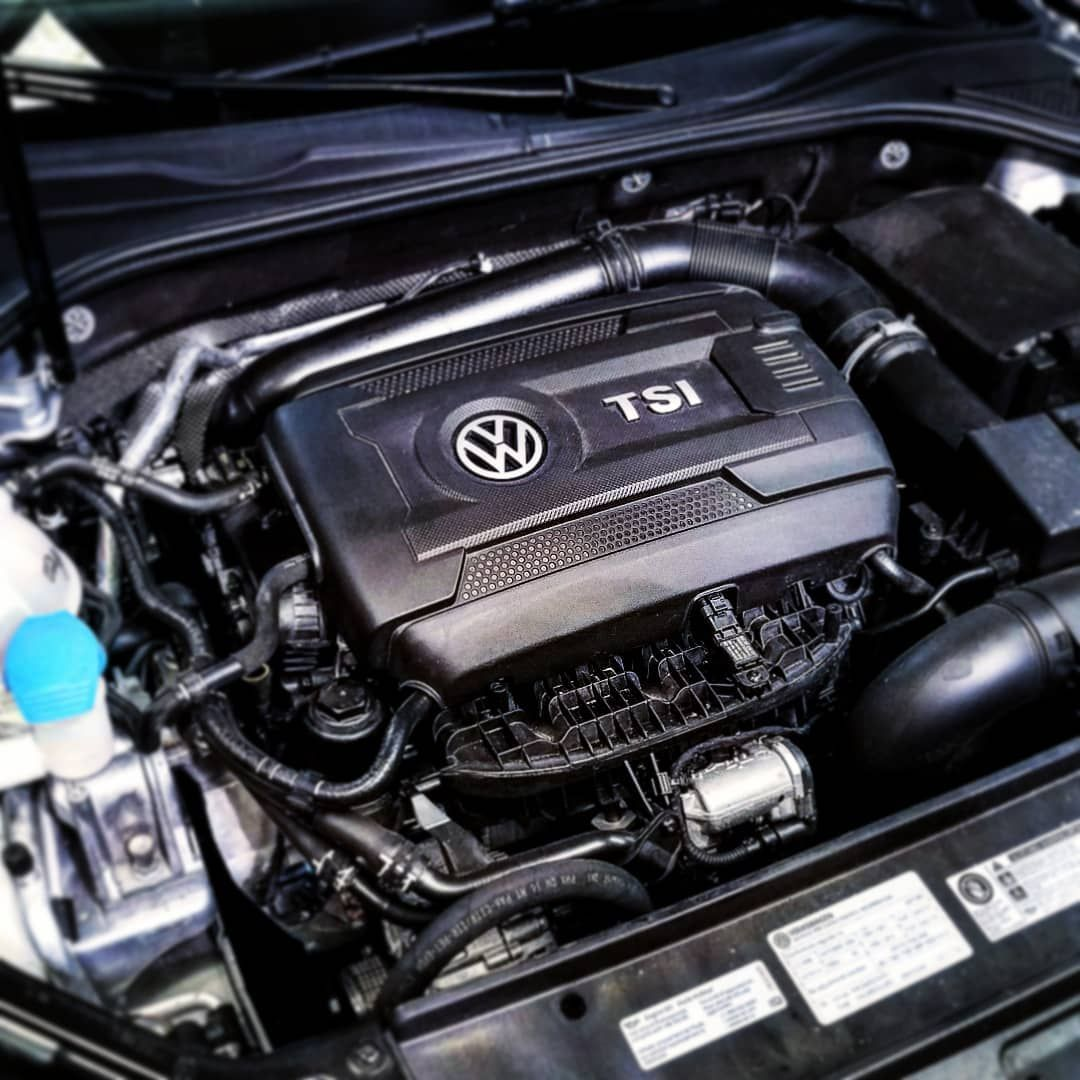 VW 1 8T TSI EA888 Gen 3 engine found in the MKIV Jetta, MKII